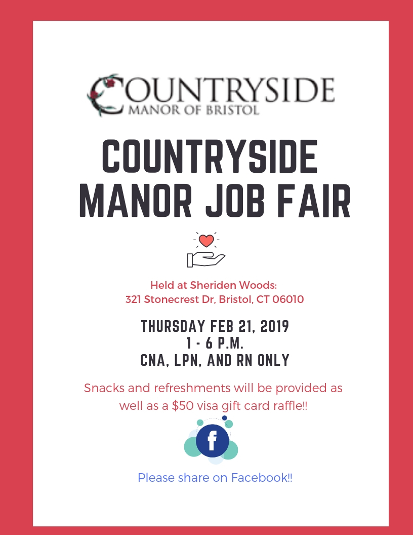 flyer job fair